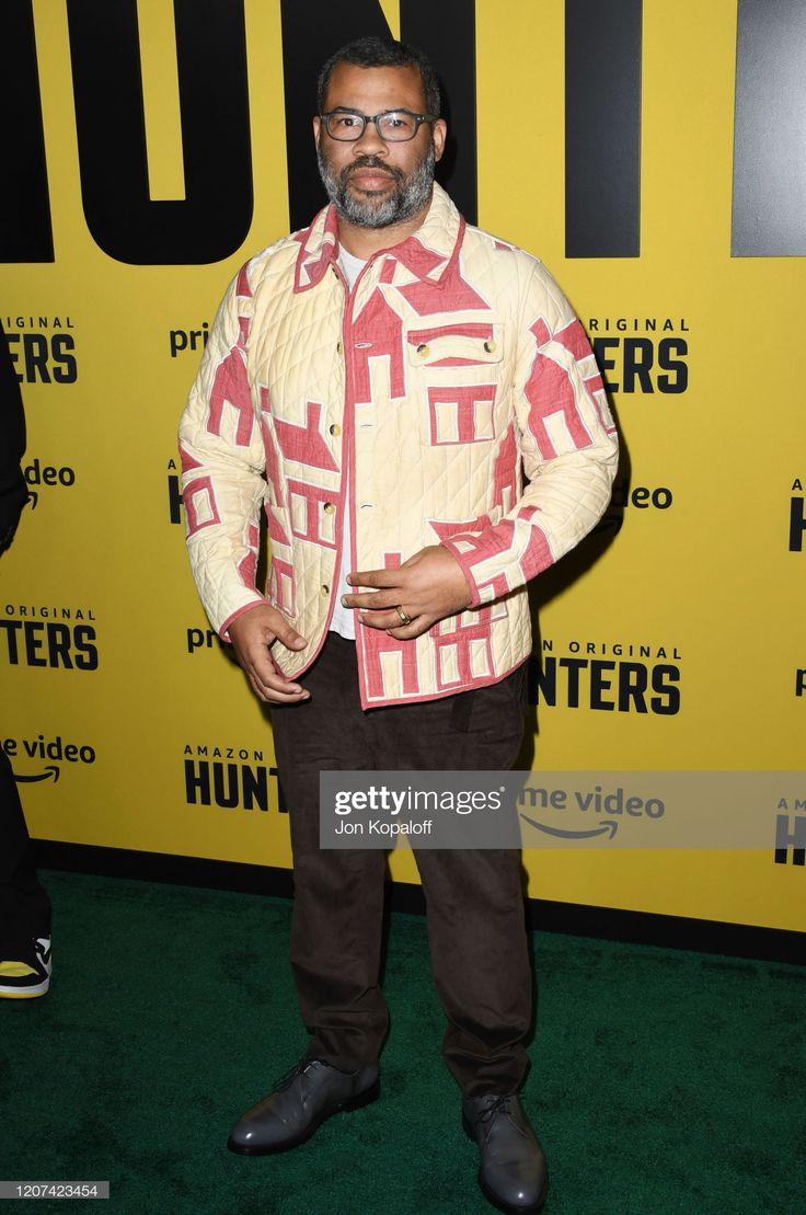 Jordan peele attends the premiere of amazon prime videos