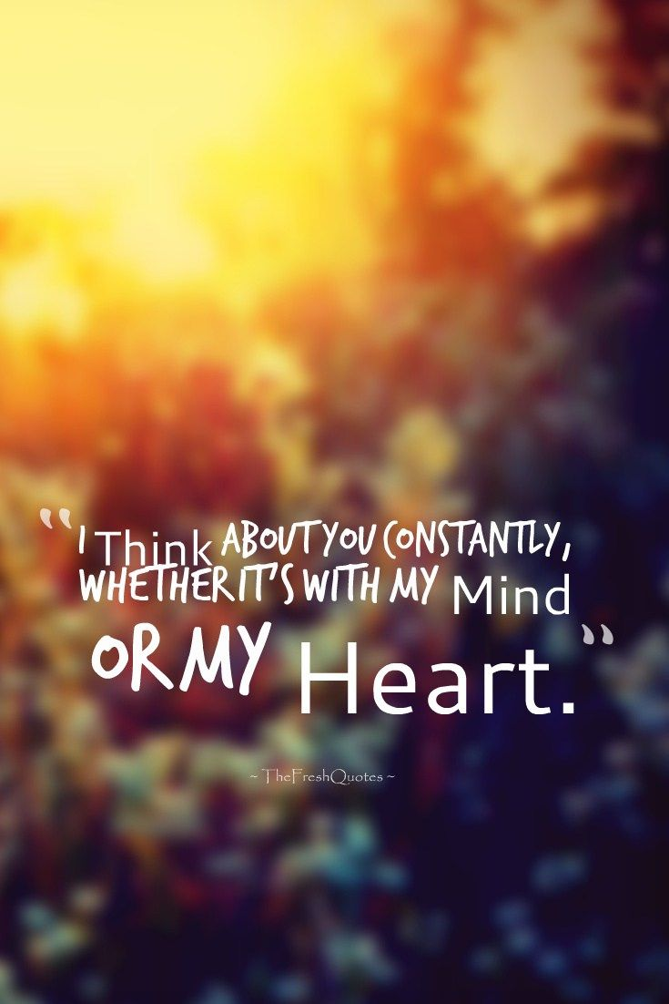 35 Romantic Thinking Of You Quotes And Messages With Images