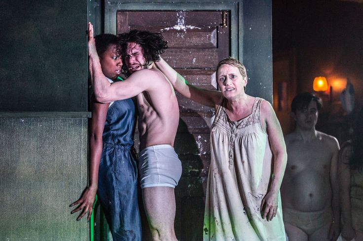 Kit Harington in Doctor Faustus at the Duke of York's Theatre, London, April 2016: http://www.LOVEtheatre.com/tickets/4704/Doctor-Faustus?sid=PIN