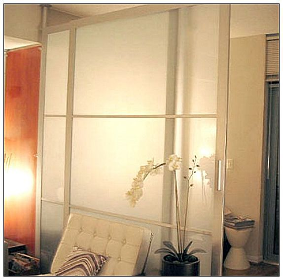 17 best images about room dividers on pinterest hanging curtains modern room and ikea room - Hanging sliding room divider ...