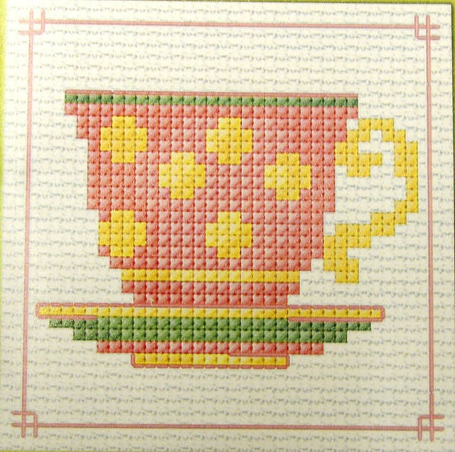 #teacup #cross_stitch