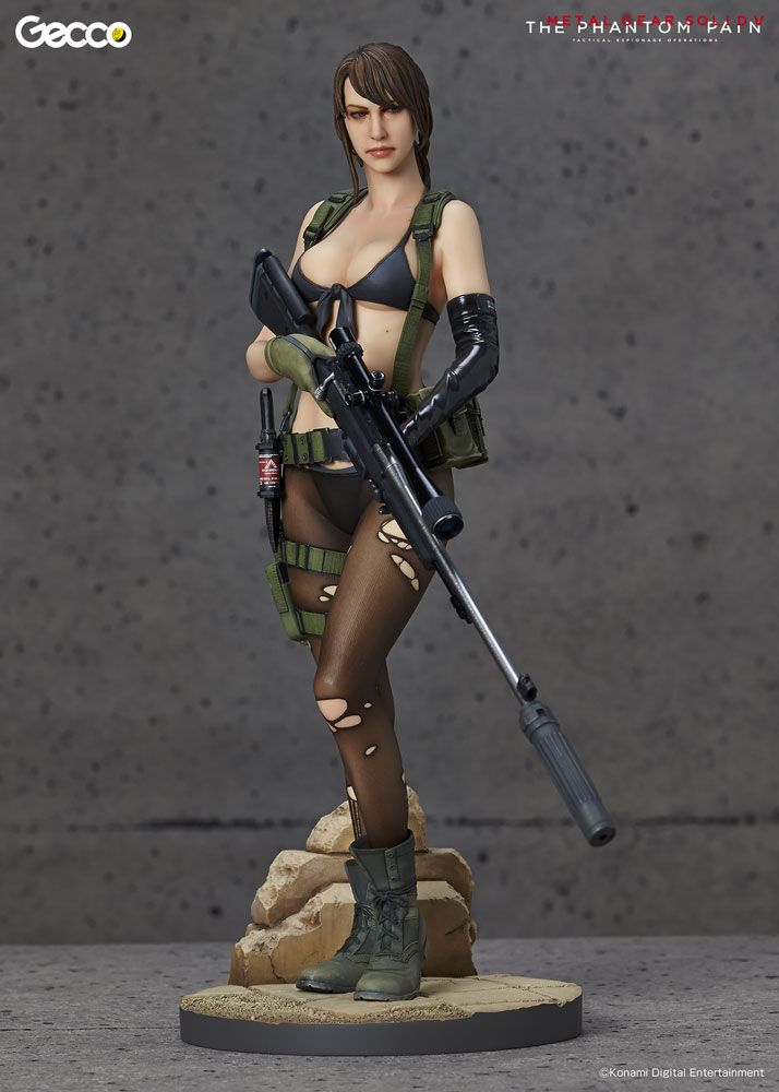 Metal+Gear+Solid+V+The+Phantom+Pain+statuette+1/6+Quiet+Gecco