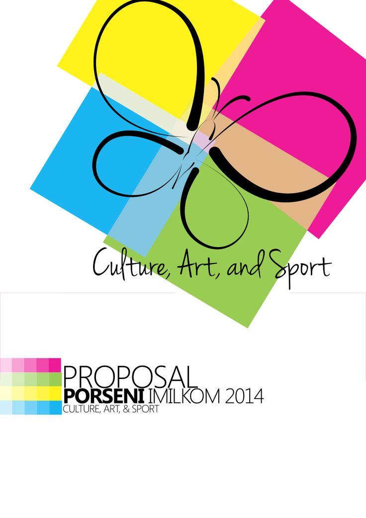 cover proposal Porseni aku buat. Logo by : Ridho Anugrah~
