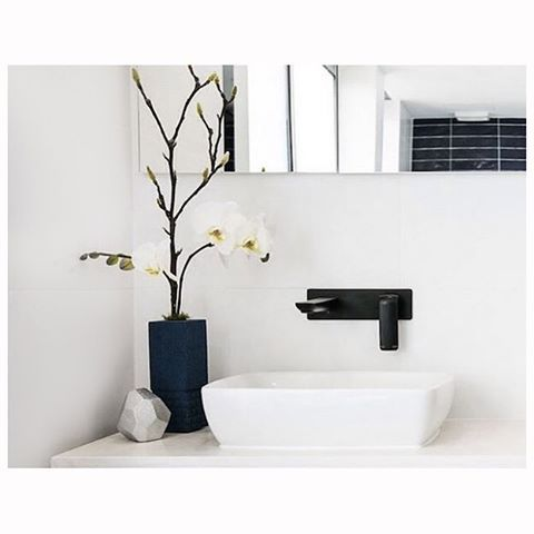 T H E  B L O C K  R E V E A L S   The Milli Glance Wall Basin Set was a stand out in @lukeandebony 's bathroom reveal on last nights @theblock9 @channel9 !  We think the first night of room reveals gave us an insight into the personal style of all the couples and a preview of what's to come!  What did you think?  The Milli Glance range is available in Reece stores
