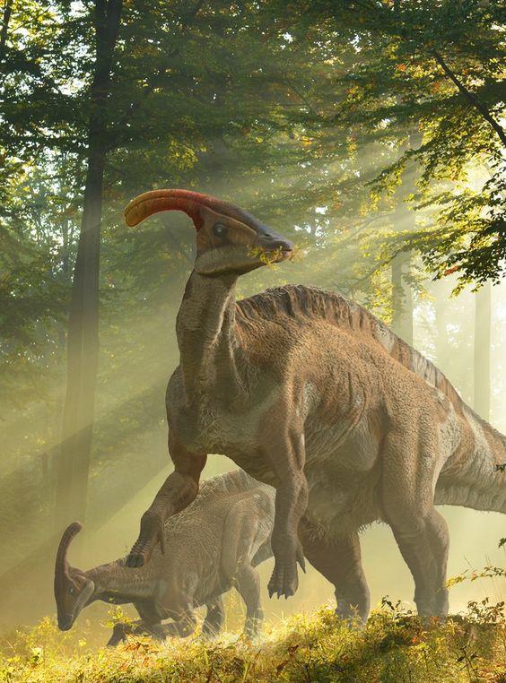 #JURASSICISLAND http://herschel-hoffmeyer.deviantart.com/art/Parasaurolophus-Card-462540189