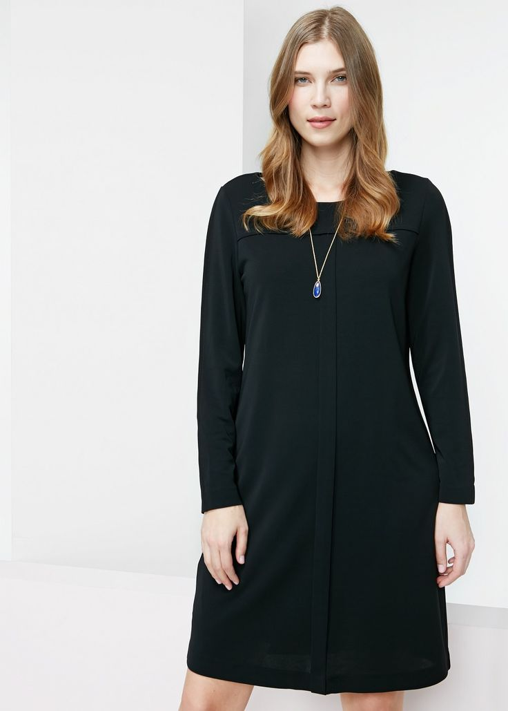 Trim shift dress