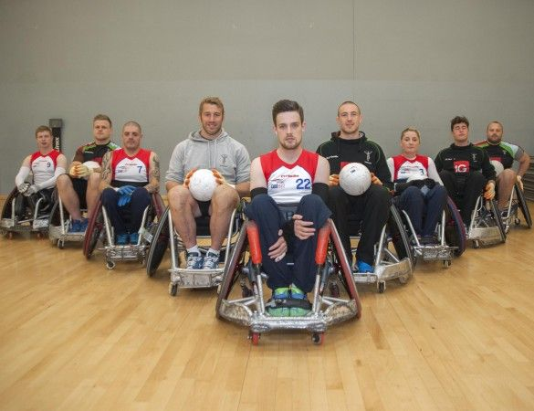 Harlequins and GB Wheelchair Rugby