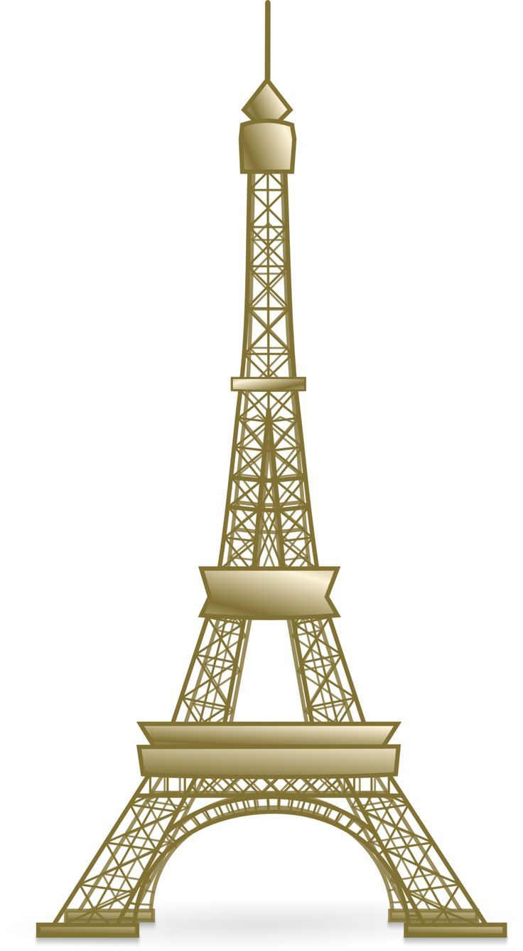 Eiffel Towers Clipart Great Buildings And Structures Eiffel Tower Clip Art Eiffel Tower Painting Eiffel Tower Drawing