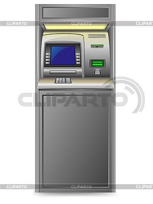 Банкомат | Векторный клипарт | ID 3138231