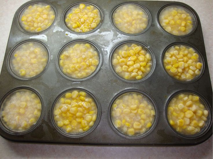 Emptying a few cans of corn into a muffin tray, adding water & then freezing it is a very small act of kindness. But on hot days, it means the world to the chickens that live here. Pecking away at an ice block to finally be rewarded with a cold corn kernel is a great way to help them keep cool .