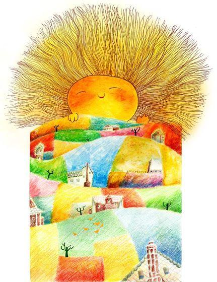 Good Morning Sunshine Vilma Santos : Best art illustrations images on pinterest