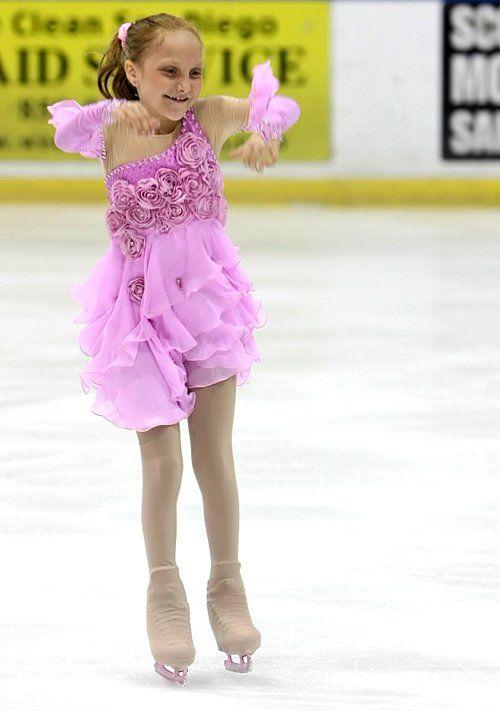 Pretty skating dress