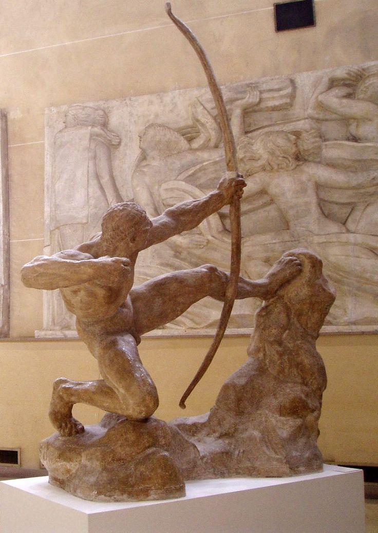 Antoine Bourdelle (1861-1929) - Héraklès archer (1909)