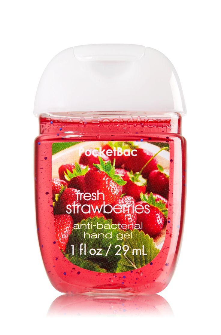 Fresh Strawberries PocketBac Sanitizing Hand Gel - Soap/Sanitizer - Bath & Body Works