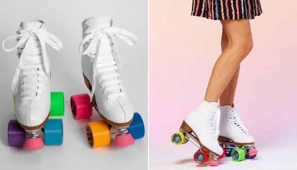 Style Spotting: Colorblock Roller Skates