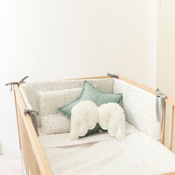 Las 25 mejores ideas sobre ropa de cama para cuna de beb - Vestir cuna bebe ...