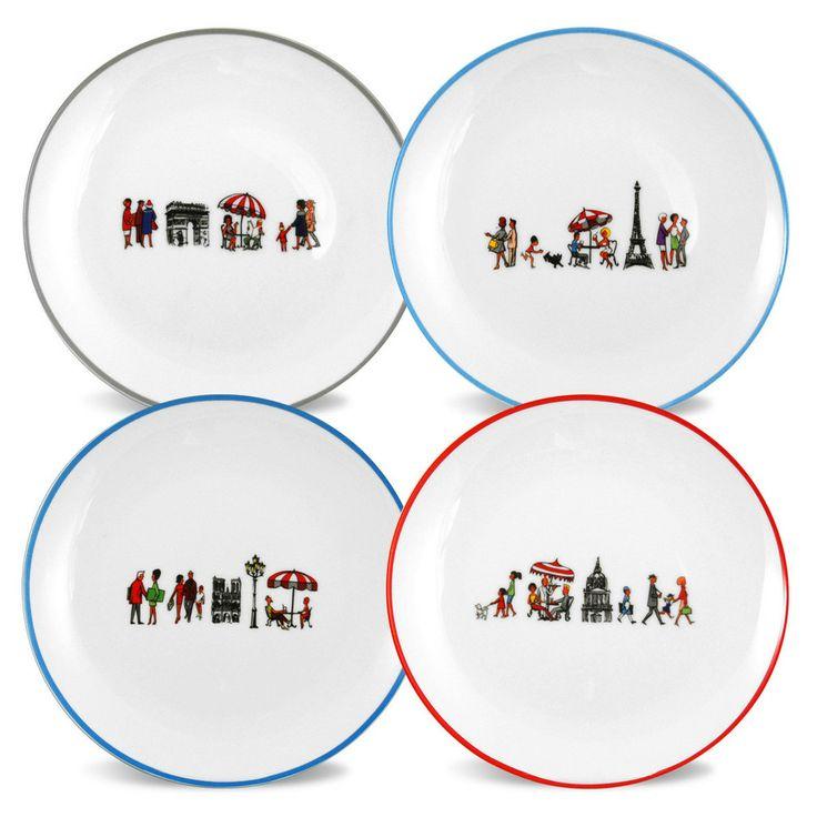 Promenade Set of Plates