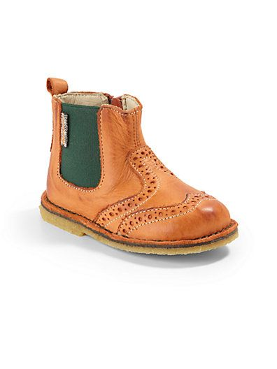 Naturino - Infant's, Toddler's & Kids' Leather Chelsea Wingtip Boots - Saks.com