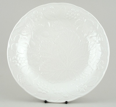 Burleigh Davenport white Dinner Plate by Spode