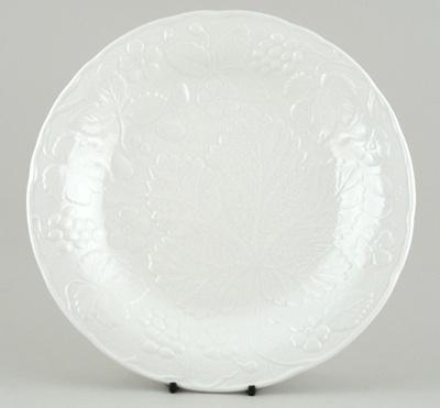 Burleigh Davenport white Dinner Plate by Spode