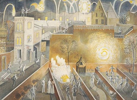 Eric Ravilious,November 5th 1933. from 'Eric Ravilious: Imagined Realities', cat. 43