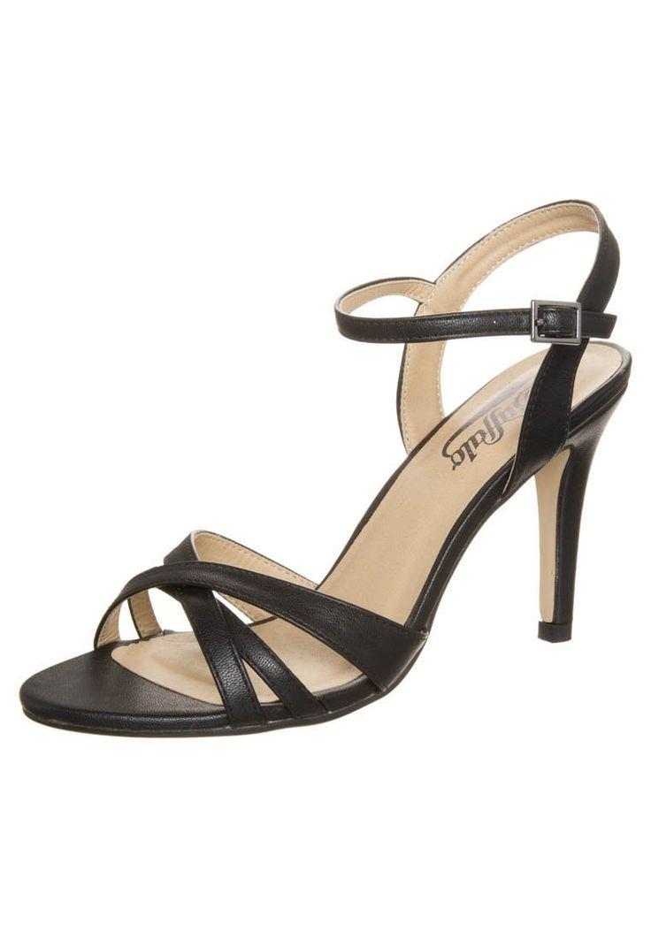 Buffalo High Heel Sandaletten black Schuhe bei Zalando.de | Obermaterial: Hochwertiges Lederimitat, Innenmaterial: Lederimitat, Sohle: Kunststoff, Decksohle: Lederimitat | Schuhe jetzt versandkostenfrei bei Zalando.de bestellen!