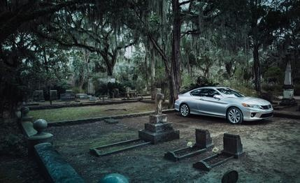 2013 #Honda #Accord EX-L V-6 Coupe Automatic    Soul Survivor: Honda's shapely and fast two-door goes whistling past the graves of its competition.