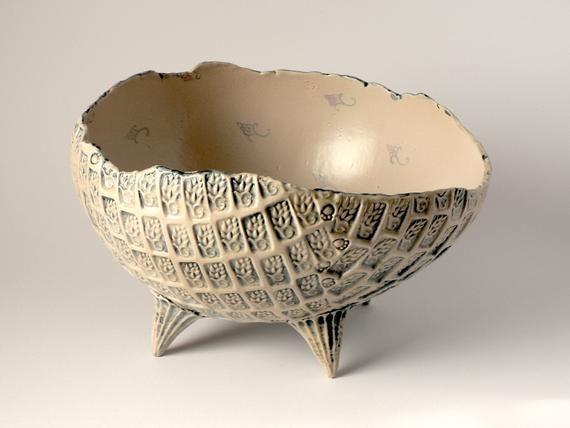 Large Fruit Bowl With Hop Pattern Fruit Bowls Decorative Art