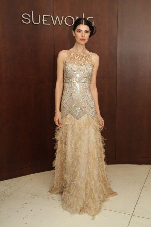 79 best Gold Wedding Dress images on Pinterest