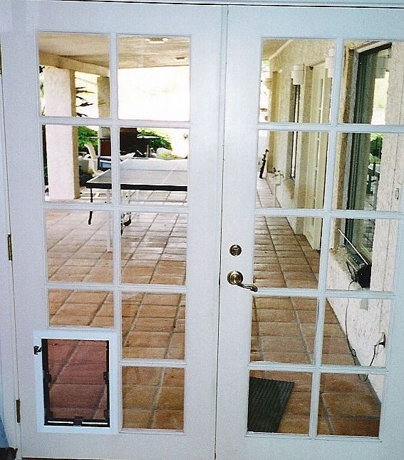 Need A Pet Door But An Existing Hole Or A Paneled French Door? The Hale