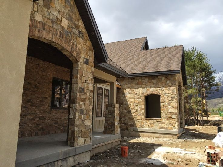 17 Best Images About Brick And Stone Combinations On