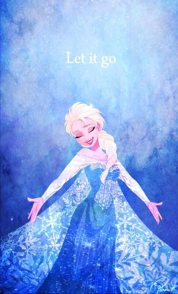 """Seriously, has any one else noticed that the point of the movie is that she should NOT have """"let it go""""???  --Letting go her frosty powers caused nothing but harm and trouble for her country and they almost all died trying to set it right!!"""