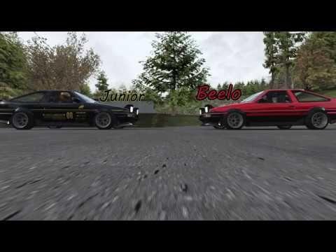 AE86 Ebisu Touge | Assetto Corsa Drifting | Ae86, Tandem