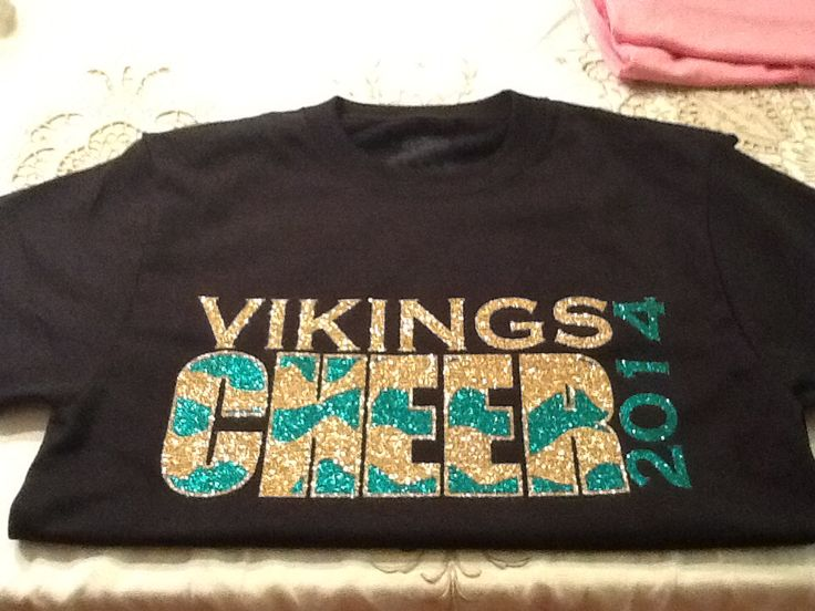 cheer shirt made by me