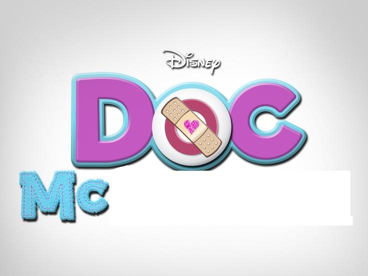 Doc McStuffins name tag | Doc mcstuffins party | Pinterest ...