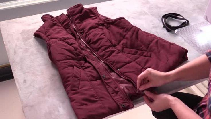 Takkien vetoketjut hajoavat helposti ja vielä helpommin takki jää siksi pitämättä. Jos et ehdi tehdä perusteellista vetoketjuremonttia, kokeile...