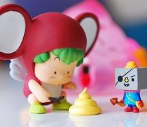 cute, dr. slump, gajira, gatchan, pirate, toy (Full Size)