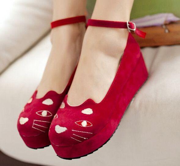 japanese cat platform shoes shoes
