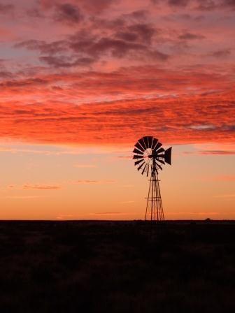 Karoo Sunset South Africa Reminds Me Of The Texas Panhandle
