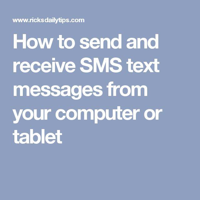 17 Best ideas about Receive Text Messages Online on Pinterest ...