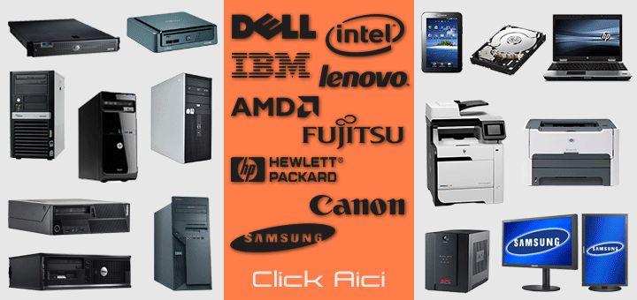 Echipamente IT second hand ieftine Craiova. Oferta calculatoare, monitoare LCD, laptopuri, imprimante laser, componente pc, ups-uri, servere, s.a.