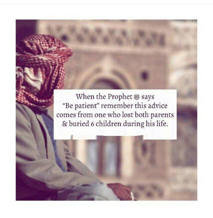 Always remain Patient