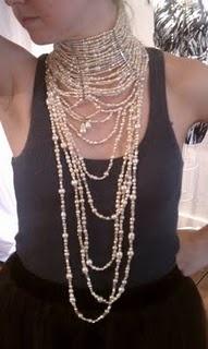 Erickson Beamon pearl choker necklace