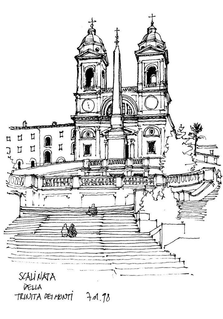 Rome, Scalinata della Trinita dei Monti | by gerard michel