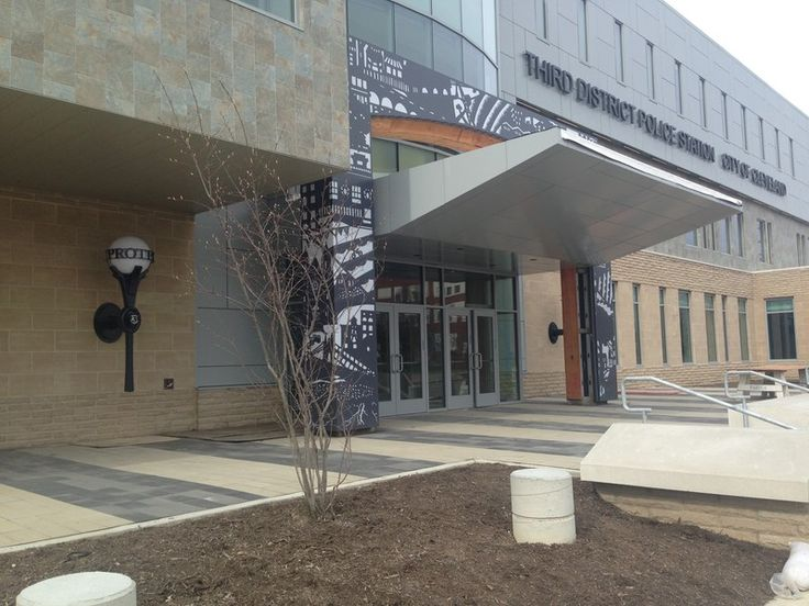 Our Work - Third District Police Station   LAND studio : landscape   art   neighborhoods   development in Cleveland, OH