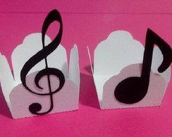 Forminha Notas Musicais (cod. F32)