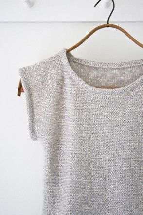 DIY Knitted Top - FREE Knitting Pattern / Tutorial