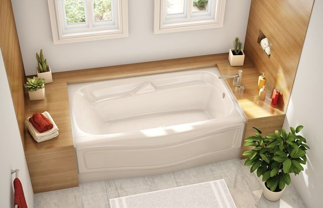 24 best images about bathtubs showers on pinterest for Alcove bathtub dimensions