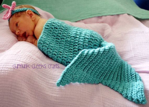 Mermaid tail bunting bag mermaid tail blanket baby bunting