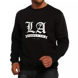 LA Supply Co. Black Sweater.
